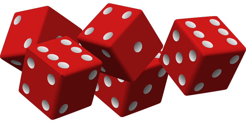 dice, game, luck